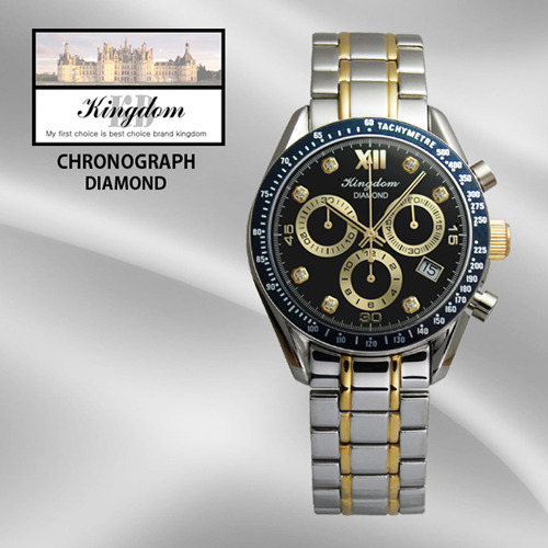 KINGDOM/킹덤명품시계/DIAMOND/CHRONOGRAPH/KD4050CBM
