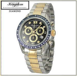 [KINGDOM] 킹덤명품시계/DIAMOND시계/CHRONOGRAPH/KD4050CMD