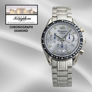 KINGDOM/킹덤명품시계/DIAMOND/CHRONOGRAPH/KD4050BM
