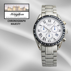 KINGDOM/킹덤명품시계/MAJESTY/CHRONOGRAPH/KD4030M